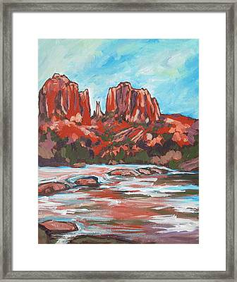 Cathedral Rock 2 Framed Print by Sandy Tracey