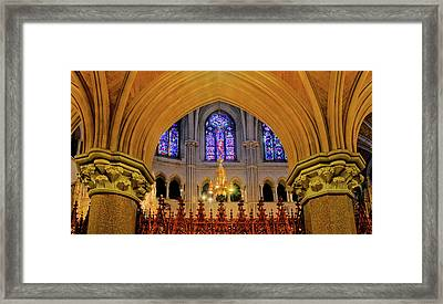 Cathedral Study Framed Print by Dave Mills