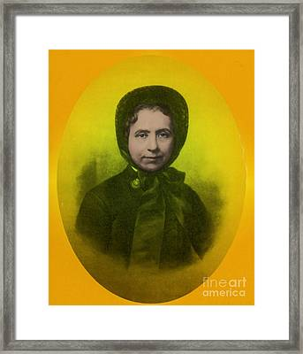Catherine Booth, Co-founder Salvation Framed Print by Science Source