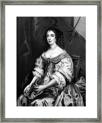 Catherine Of Braganza Framed Print by Granger