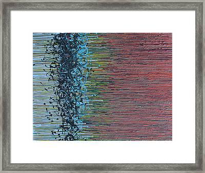 Caught In The Net Framed Print by Kate Tesch