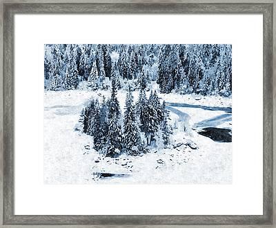 Caumasee Framed Print