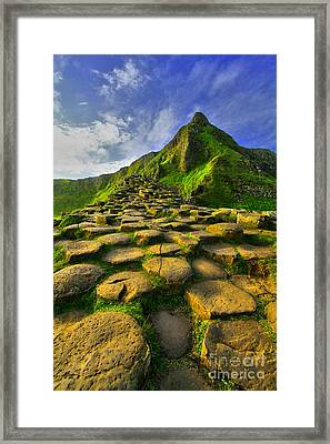 Framed Print featuring the photograph Causeway View by Roy  McPeak
