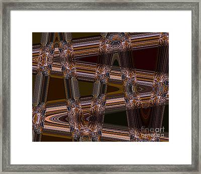 Cave Abstract 1 Framed Print by Tashia Peterman