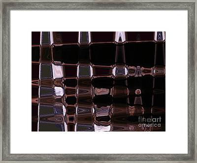 Cave Abstract 4 Framed Print by Tashia Peterman
