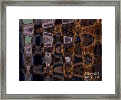 Cave Abstract 5 Framed Print by Tashia Peterman