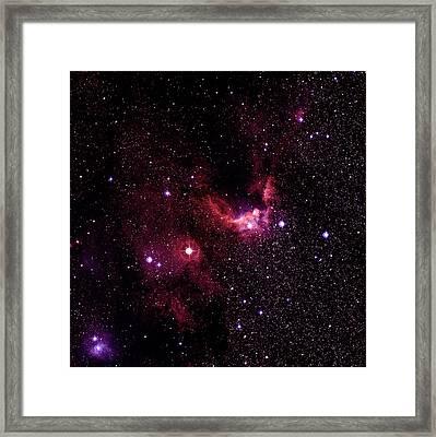 Cave Nebulae Framed Print by Celestial Image Co.