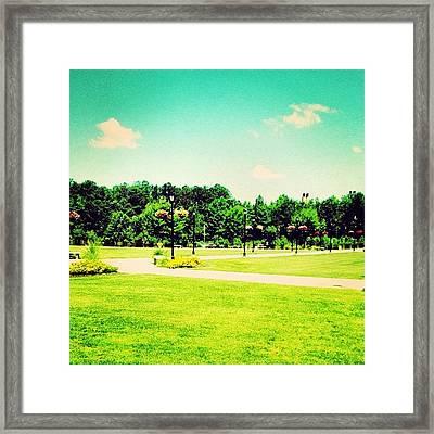 #ccu #coastal #coastalcarolina #conway Framed Print