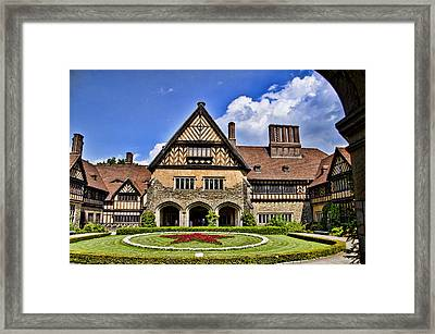 Cecilienhof Palace Berlin Germany Framed Print