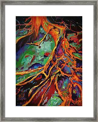 Cedar Roots Framed Print