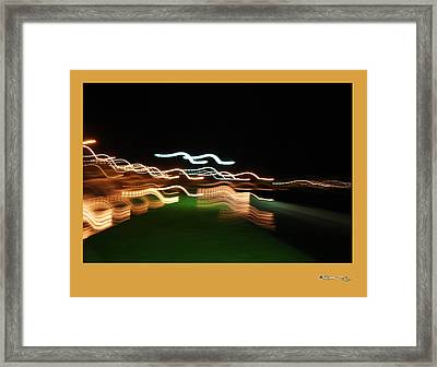 Cee By Night 1 Framed Print by Xoanxo Cespon