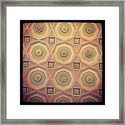 Ceiling Framed Print