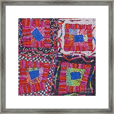 Celebrate Color Framed Print by Marilyn West