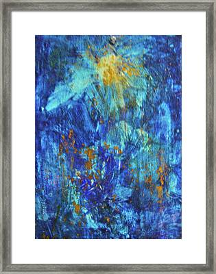 Framed Print featuring the painting Celebration 2 by Mary Sullivan