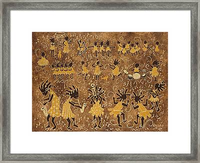 Celebration Framed Print by Katherine Young-Beck