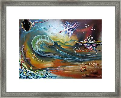 Celebration Framed Print by Leonard Aitken