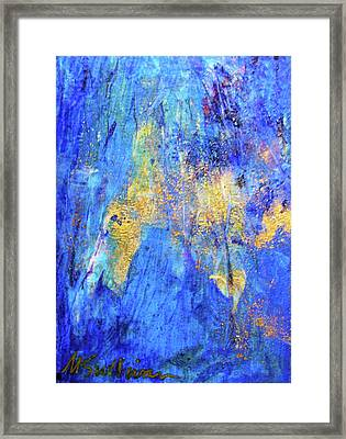 Framed Print featuring the painting Celebration by Mary Sullivan