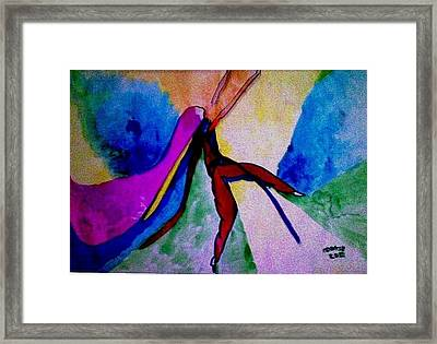 Celebration Of Life.. Be..1 Framed Print by Rooma Mehra