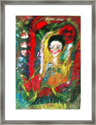 Celebration Of Life.. Be..3 Framed Print by Rooma Mehra