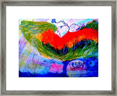 Celebration Of Life.. Be..4 Framed Print by Rooma Mehra