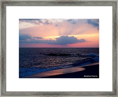 Celebration Of Light Framed Print