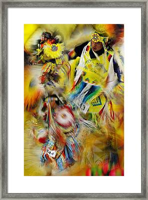 Framed Print featuring the photograph Celebration Of Nations by Vicki Pelham