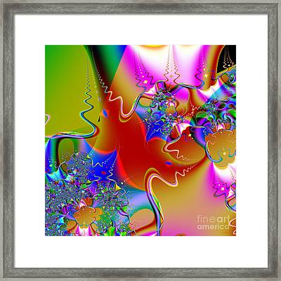 Celebration . Square . S16 Framed Print