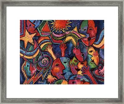 Celebration Framed Print by Susan  Brasch