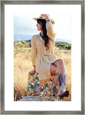 Celeste 12 Framed Print