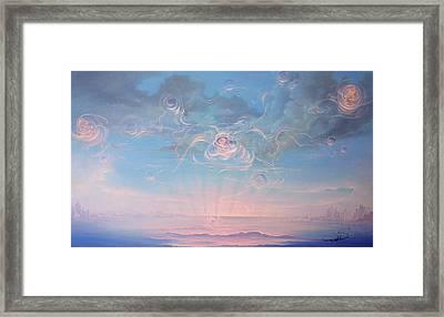Celestial Connection Framed Print by Hans Doller