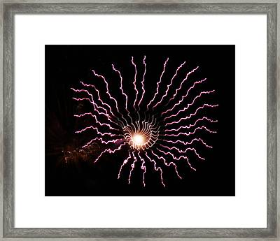 Framed Print featuring the photograph Celestial Eye by Chris Anderson