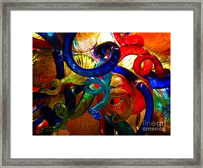 Celestial Glass 6 Framed Print by Xueling Zou