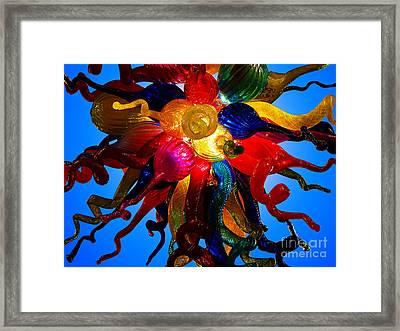 Celestial Glass 7 Framed Print by Xueling Zou