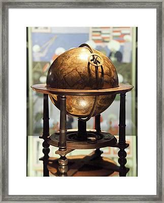 Celestial Globe, 17th Century Framed Print by Detlev Van Ravenswaay