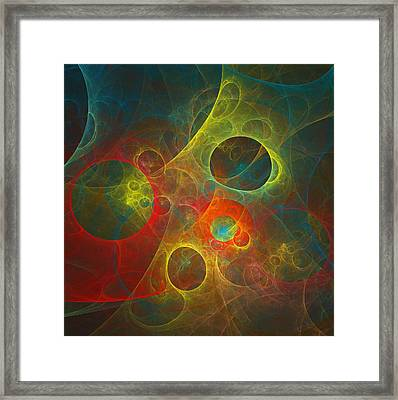 Celestial Objects Framed Print by Mary Lane