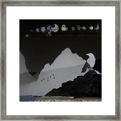 Celestial Shadows Framed Print