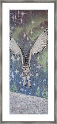 Celestial Swoop Framed Print by Thomas Maynard