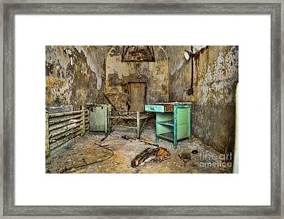 Cell Block 5 Framed Print by Paul Ward