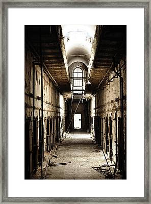 Cell Block Number 9 Framed Print by Bill Cannon