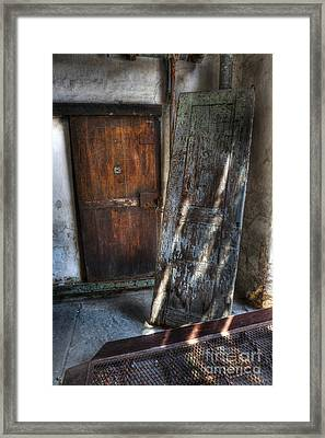 Cell Doors - Eastern State Penitentiary Framed Print by Lee Dos Santos