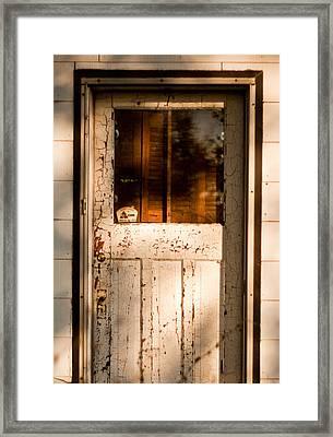 Cellar Door Framed Print