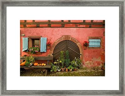 Cellar Door Framed Print by John Galbo