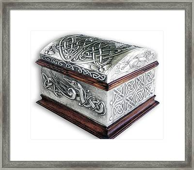 Celtic Chest 1 Framed Print by Rodrigo Santos