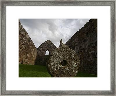 Celtic Cross Framed Print by Paul Chestnutt