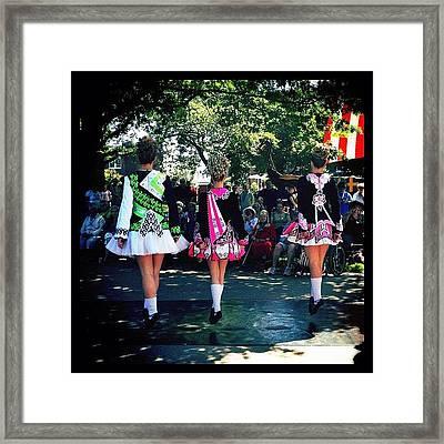 Celtic Dancing @ Syttende Mai Framed Print by Natasha Marco