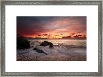 Celtic Sunset Framed Print