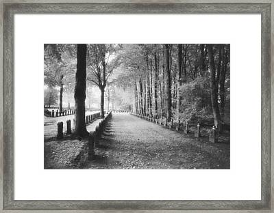 Cemetery At Ypres  Framed Print by Simon Marsden