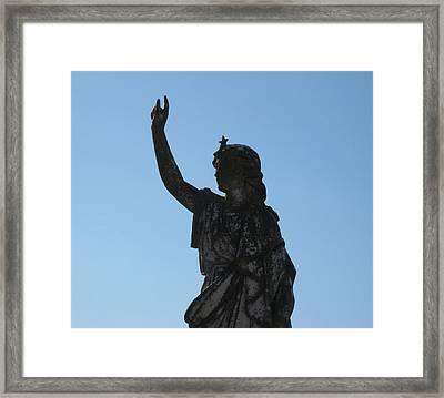 Cemetery Series 2 Framed Print