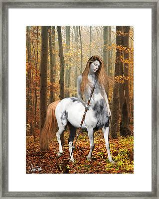 Centaur Series Autumn Walk Framed Print