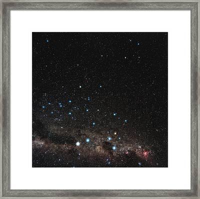 Centaurus Constellation Framed Print by Eckhard Slawik